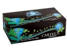 1 Box Cartel Capsule Menthol Cigarette Filter Tubes 100