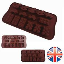 *UK Seller* Silicone 15 Cockhorse Car Bear Shape Chocolate Ice Cake Mould Mold