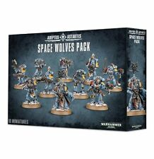 Warhammer 40k Space Wolves Pack Space Marines Tactical Squad NEW
