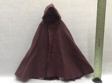 "1/6 Sideshow Star Wars 12"" figures Luke Skywalker Jedi Knight Brown Hooded Cloak"