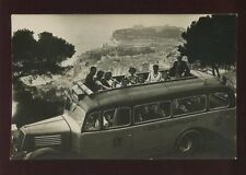 MOTORING Early Motor Bus France SNCF coach 37 Route du Littoral c1930s? RP PPC