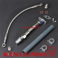 Kinugawa Top Mount Oil Feed & Return Line FOR Nissan RB20/25DET w/TRUST TD06-20G