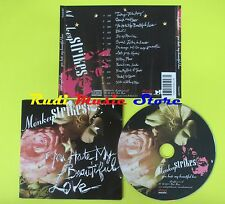 CD MONKEYSTRIKES You hate my beautiful love 2005 DUST MUSIC 007 lp mc dvd vhs