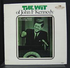 John F. Kennedy - The Wit Of JFK LP Mint- LP-618 Mono 1962 USA 1st Vinyl Record