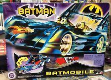 2003 Mattel Batman's Batmobile With Detachable Robin Motorcycle MIB