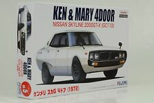 Nissan Skyline 2000 GT-X GC110 Ken & Mary 4-door Kit Bausatz 1:24 FUJIMI ID-5