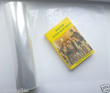 CLEAR PLASTIC BOOK COVERING FILM 340mm x 120m roll! ACID FREE!!