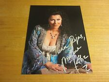 Milena Kitic Opera Singer Autographed 8.5X11 Photo