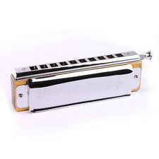 Blues Harmonica Chromatic C Key w/ 10 Holes 40 Tone NEW