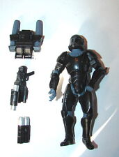 Star Wars 30th Omega Squad Republic Elite  Black Clone Commando w acc #4  1115