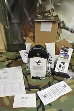 DAVID CLARK PILOT HEAD SET MODEL H10-76 WITH VOLUME CONTROL MILITARY ISSUE NIB