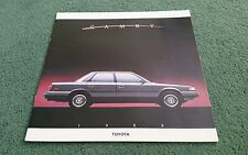 1988 TOYOTA CAMRY SEDAN / WAGON / ALL TRAC LARGE USA 16 PAGE BROCHURE + 2 SHEETS
