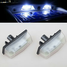 2x LED License Plate Light For TOYOTA MATRIX AZE14 PRIUS ZVW30 09- LEXUS CT200H