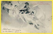 cpa 1904 à A. ROMAIRE Peinture de MOROT Plafond Mairie de NANCY Femmes Nues