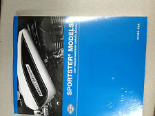 2007 Harley Davidson Sportster Service Shop Manual Set W Electrical & Parts Book
