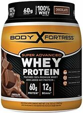 Body Fortress Super Advanced Whey Protein Powder, Chocolate, 2 Pound NEW