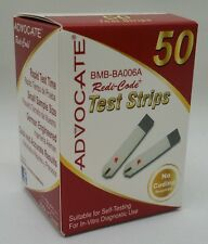 50 Advocate Redi Code Test Strips New Boxes