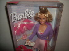 BARBIE DOLL 1999 BALLET LESSONS NEW NFRFB