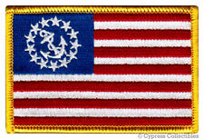 US YACHT ENSIGN FLAG PATCH embroidered BOATING EMBLEM iron-on UNITED STATES new