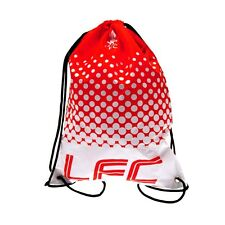 LIVERPOOL FC OFFICIAL FOOTBALL SCHOOL SPORTS GYM KIT LFC DRAWSTRING SWIM BAG FD