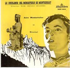 "4279-14  7"" : La Escolania del Monasterio de Montserrat: Salve Montserratina"