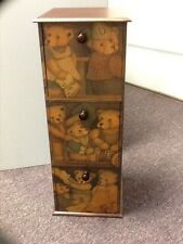 BOYDS BEARS FUNITURE COLLECTIONS STORAGE DRESSER # 70725