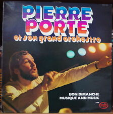 PIERRE PORTE ET SON GRAND ORCHESTRE RARE REEDITION MFP FRENCH LP