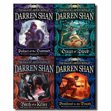 Darren Shan Series Collection - The Saga of Larten Crepsley 4 Books Set