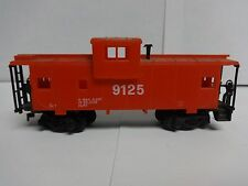 Vintage Tyco HO Scale Safety 9125 Alert Caboose Model Railroad Train Car