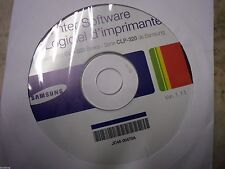 New ! Genuine Samsung CLP320 CLP-320 Printer CD Software Drivers JC46-00470A