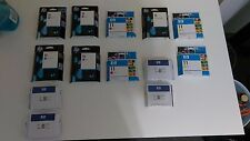 New Genuine HP #11 Ink Cartridges C4836A C4837A C4838A - LOT of 13