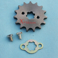 428 15 Tooth 15T Front Counter Engine Sprocket Gear Pit bike 110cc 125cc SDG SSR