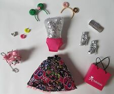 TOKIDOKI 10TH ANNIVERSARY BARBIE COMPLETE OUTFIT AND ACCESSORIES ONLY