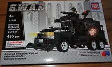 Armored Personnel Carrier SWAT BricTek Building Brick Construction Block 11101