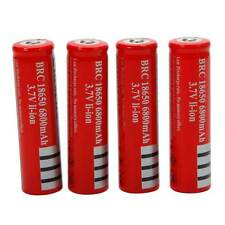 4pcs 3.7V 18650 Li-ion UItraFire  Rechargeable Battery for LED Torch