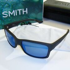 Smith Dolen Sunglasses - Matte Black Frame/Polarized ChromaPop Blue Mirror Lens