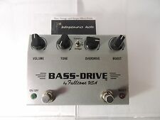 FULLTONE BASS DRIVE ORIGINAL OVERDRIVE & BOOST  EFFECTS PEDAL FREE SHIP