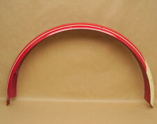 "Vintage NOS Schwinn DX Bicycle Red 24"" Balloon Tire Rear Fender"