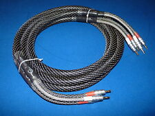 Top-End Shielded Speaker Cable 2.5m. A+++ Grade. 2N2. CMC USA Connectors. RP320