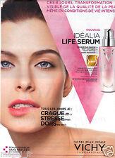 Publicité 2014 - VICHY - Life serum