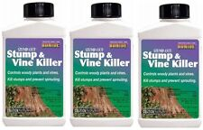 (3) Bonide # 274 8 oz Liquid Stump Out Stump and Vine / Woody Plant Killer