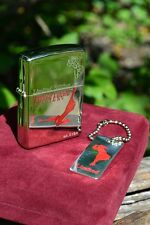 Japanese Zippo Lighter - Windy Varga Girl - Limited Numbered Edition - Keychain
