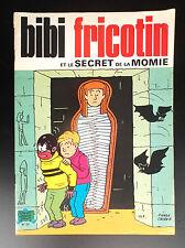 Bibi Fricotin secret de la momie N° 53 réed SPE Jeunesse joyeuse TBE  Lacroix