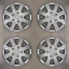 "Silver 13 Inch 13"" Hub Cap Wheel Trims for Ford Fiesta MK 3 1989 to 1997 X109"