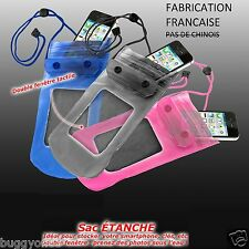 Housse Etui Pochette Sac ETANCHE WATERPROOF CASE Samsung Galaxy S6 S5 S7 Edge