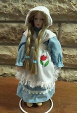 Little Dutch Girl, New England Collectors Soc. Bisque Porcelain Heirloom Doll