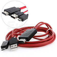 MHL Micro USB to HDMI 1080P HDTV Adapter Cable for Samsung Galaxy Note 3 S 5 4