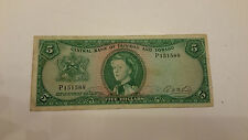 5 DOLLAR -TRINIDAD AND TOBAGO 1964
