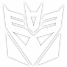 "Transformers Decepticons Decepticon Logo 2"" Decal Sticker Car Window Laptop (2x)"