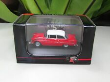 High Speed 1/87 Diecast Model  Car Chevy Bel Air 1955 Red